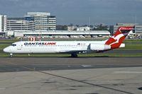 VH-YQT @ YSSY - 2004 Boeing 717-200, c/n: 55179 at Sydney