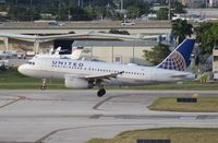 N845UA @ FLL - United A319