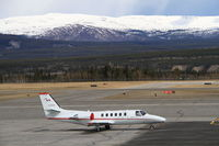 C-FJCZ @ CYXY - On the ramp at Whitehorse, Yukon. - by Murray Lundberg