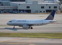 N852UA @ MIA - United A319