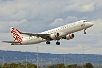 VH-ZPD @ YPPH - Embraer ERJ 190-100 IGW, c/n: 19000176 of Virgin at Perth Int.