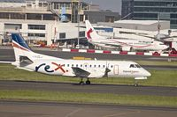 VH-ZLJ @ YSSY - 1995 Saab 340B+, c/n: 340B-380 of REX at Sydney
