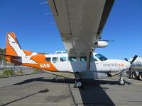 ZK-SAN @ NZWN - Sounds Air. Cessna 172S Skyhawk. ZK-SAN cn 172S8673. Wellington - International (WLG NZWN). Image © Brian McBride. 28 March 2014 - by Brian McBride