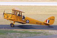 VH-CKF @ YPJT - VH-CKF (A17-421), 1941 De Havilland Australia DH-82A Tiger Moth, c/n: DHA596  at Jandakot