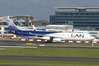 CC-CQA @ YSSY - 2000 Airbus A340-313X, c/n: 359 of LAN Chile at Sydney - by Terry Fletcher