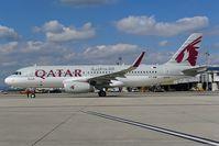 A7-AHW @ LOWW - Qatar Airways Airbus 320 - by Dietmar Schreiber - VAP