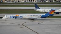 N863GA @ FLL - Allegiant MD-83 - by Florida Metal