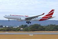 3B-NBM @ YPPH - Air Mauritius - 2007 Airbus A330-202, c/n: 883 at Perth International - by Terry Fletcher