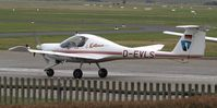 D-EVLS @ EDWR - taxi to the rwy - by Volker Leissing