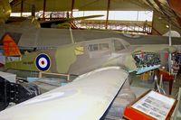 VH-BQR - 1940 Percival P-34 Proctor 3, c/n: K.392 at Perth Aviation Heritage Museum