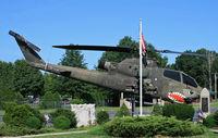 68-17072 - Monument on display at the American Legion Post 25, Milltown, NJ. - by Daniel L. Berek