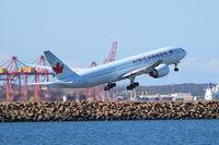 C-FIVK @ YSSY - Air Canada. 777-233LR. C-FIVK 704 cn 35245 689. Sydney - Kingsford Smith International (Mascot) (SYD YSSY). Image © Brian McBride. 06 August 2013 - by Brian McBride