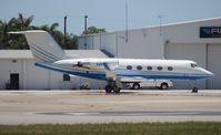 N888YZ @ OPF - Gulfstream II