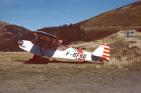 F-BFBQ @ LFIP - Fall in the French Pyrenees, elev: 5200 ft (home-scanned Kodachrome_25). - by Jean-Pierre Contal