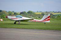 G-MOAN @ EGSU - 1. G-MOAN visiting Duxford Airfield.