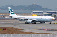 B-LAQ @ VHHH - Cathay Pacific - by Martin Nimmervoll