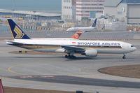 9V-SRN @ VHHH - Singapore Airlines - by Martin Nimmervoll