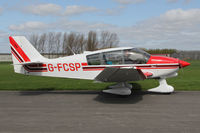 G-FCSP @ EGBR - Robin DR-400-180 Regent at The Real Aeroplane Club's Early Bird Fly-In, Breighton Airfield, April 2014. - by Malcolm Clarke
