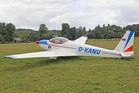 D-KANU @ X1WP - Schleicher ASK-16 at The De Havilland Moth Club's 28th International Moth Rally at Woburn Abbey. August 2013. - by Malcolm Clarke
