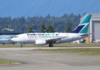C-GWSB @ CYVR - WestJet. 737-6CT. C-GWSB 602 cn 34285 1797. Vancouver - International (YVR CYVR). Image © Brian McBride. 30 June 2013 - by Brian McBride