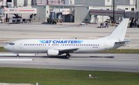 N916SK @ MIA - C and T Charters Bridge to Cuba 737-400