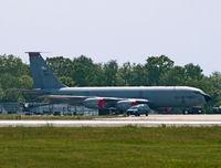 63-8040 @ KWRI - During an air show many years ago. - by Daniel L. Berek