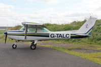 G-TALC @ EGBR - Cessna 152 at The Real Aeroplane Club's Early Bird Fly-In, Breighton Airfield, April 2014. - by Malcolm Clarke