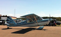 N107AC @ UCP - Taxiing to takeoff after UCP Wheels and Wings Airshow - by Arthur Tanyel