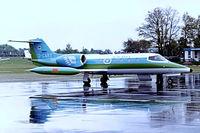 D-CART @ EDDL - Learjet 35A [35A-354] (Barvaria Flug) Dusseldorf~D 01/05/1983. Taken from a slide. - by Ray Barber