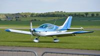 G-WOOO @ EGSU - 3. G-WOOO visiting Duxford Airfield. - by Eric.Fishwick