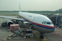 9M-MKJ @ WSSS - Malaysian A333 at its gate in SIN. - by FerryPNL
