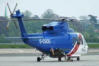 G-CGOU @ EGNJ - Bristow Helicopters Ltd - by Chris Hall