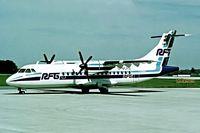 D-BCRQ @ EDLW - Aerospatiale ATR-42-310 [233] (RFG Regionalflug) Dortmund~D 03/06/1994. - by Ray Barber