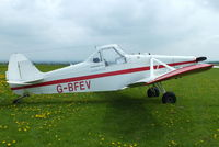 G-BFEV @ X4KL - Trent Valley Gliding Club, Kirton in Lindsay - by Chris Hall