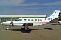 D-IAPW @ EDDM - Cessna 441 Conquest II [441-0210] Munich~D 09/09/1993 - by Ray Barber