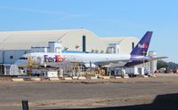 N926FD @ BFM - Fed Ex 757-200