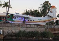 N928J - Grumman HU-16C Albatross owned by singer Jimmy Buffett located at Universal City Walk in front of Buffett's Margaritaville Restaurant