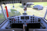 D-LDFR @ EDLE - Control panel of blimp WDL 1b - by Thierry DETABLE