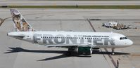 N941FR @ FLL - Frontier Lobo the Gray Wolf