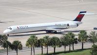 N946DN @ TPA - Delta MD-90