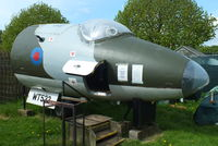 WT532 @ EGHH - at the Bournemouth Aviaton Museum - by Chris Hall
