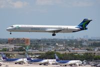 N951TW @ MIA - World Atlantic MD-83