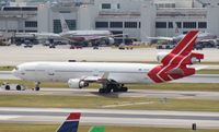 N956AR @ MIA - Ex Martinair MD-11F, owned by Centurion/Skylease Cargo