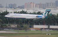 N958AT @ FLL - Air Tran 717