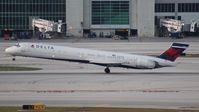 N959DN @ MIA - Delta MD-90