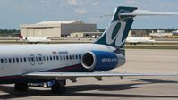 N960AT @ DTW - Air Tran 717 for my flight down to MCO