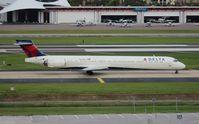 N961DN @ TPA - Delta MD-90