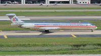 N964TW @ TPA - American MD-83 - by Florida Metal