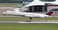 N966DL @ TPA - Delta MD-88 - by Florida Metal