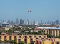 N967CG @ MIA - Avianca A330-200 arriving over Miami